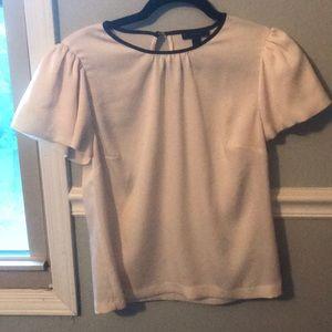 J. Crew white blouse